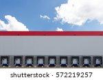modern logistics center | Shutterstock . vector #572219257