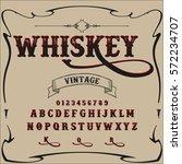 whiskey  font  script typeface  ...   Shutterstock .eps vector #572234707