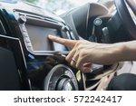 transportation technology and... | Shutterstock . vector #572242417