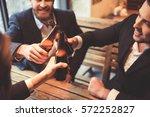 handsome businessmen are... | Shutterstock . vector #572252827