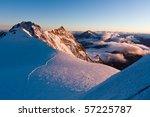 monte rosa at sunrise | Shutterstock . vector #57225787
