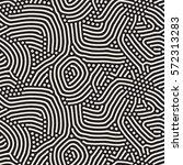 organic irregular rounded lines.... | Shutterstock .eps vector #572313283