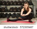 fitness  sport  training  gym... | Shutterstock . vector #572335687