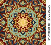 oriental colorful pattern of... | Shutterstock .eps vector #572360107