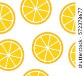 seamless orange pattern | Shutterstock .eps vector #572378677