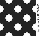 gray circle seamless pattern....   Shutterstock .eps vector #572382463