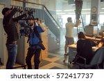 saint petersburg  russia  ...   Shutterstock . vector #572417737