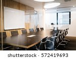 modern furnished conference... | Shutterstock . vector #572419693