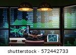 back side of sitting... | Shutterstock . vector #572442733