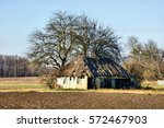 Dilapidated Hut On The...