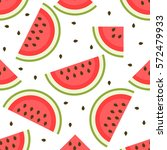 seamless pattern with... | Shutterstock .eps vector #572479933
