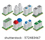 Set Of The Isometric Vector...
