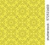 decorative retro seamless... | Shutterstock . vector #572521603