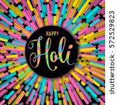 vector illustration of happy... | Shutterstock .eps vector #572529823