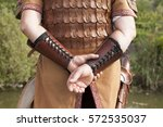 traditional hungarian archery... | Shutterstock . vector #572535037
