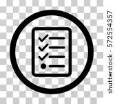 checklist icon. vector...
