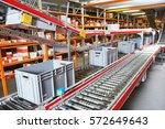warehouse management system.... | Shutterstock . vector #572649643