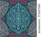 hand drawn vector ethnic...   Shutterstock .eps vector #572657083