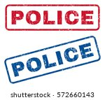 police text rubber seal stamp... | Shutterstock .eps vector #572660143