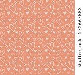valentines day background... | Shutterstock .eps vector #572667883