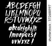graphic font for your design.... | Shutterstock .eps vector #572688997