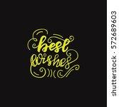 hand drawn greeting card design ... | Shutterstock .eps vector #572689603