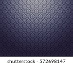 black damask wallpaper with