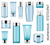 vector cosmetic packaging icons ... | Shutterstock .eps vector #572721967