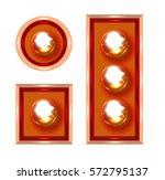 marquee lights illustration | Shutterstock . vector #572795137