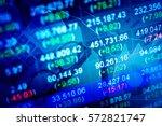 business graph background ... | Shutterstock . vector #572821747