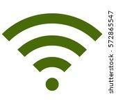 vector illustration of wifi... | Shutterstock .eps vector #572865547