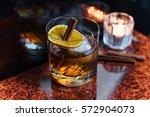 cinnamon cocktail | Shutterstock . vector #572904073