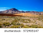view of the main plateau in the ... | Shutterstock . vector #572905147