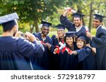 education  graduation ... | Shutterstock . vector #572918797