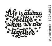 hand lettering typography... | Shutterstock .eps vector #572918833