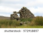 Ruins Of An Old Crofters...