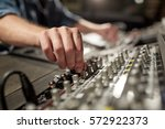 music  technology  people and... | Shutterstock . vector #572922373