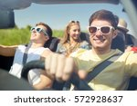 leisure  road trip  travel and... | Shutterstock . vector #572928637