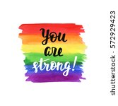 """""""you are strong"""". inspirational ... 