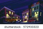 vector cartoon illustration of...   Shutterstock .eps vector #572933323