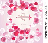 valentine's day. abstract...   Shutterstock .eps vector #572963347