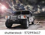 kiev. september 9  2016  hummer ... | Shutterstock . vector #572993617