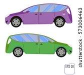 vector illustration of flat... | Shutterstock .eps vector #573006463