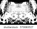 grunge black and white urban... | Shutterstock .eps vector #573083527