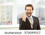 yesss  handsome mature...   Shutterstock . vector #573099517