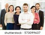top professionals. successful... | Shutterstock . vector #573099637