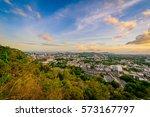 landscape at khao rang... | Shutterstock . vector #573167797