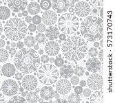 vector sliver grey abstract... | Shutterstock .eps vector #573170743