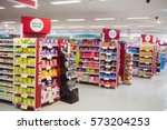 photograph of shelves with... | Shutterstock . vector #573204253