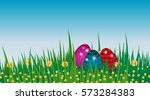 Happy Easter Background....